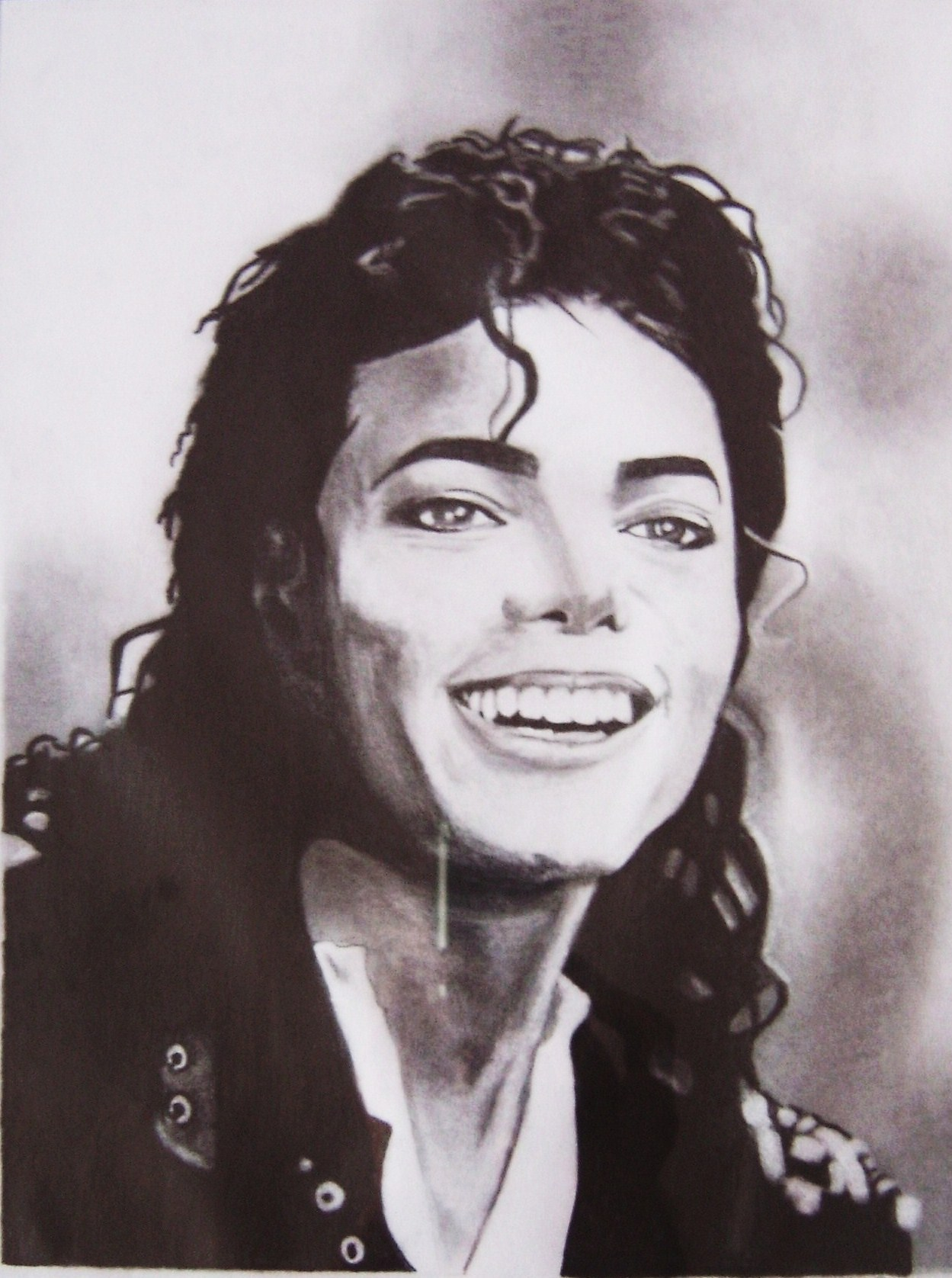 Dessin portrait michael jackson - Dessin de michael jackson ...