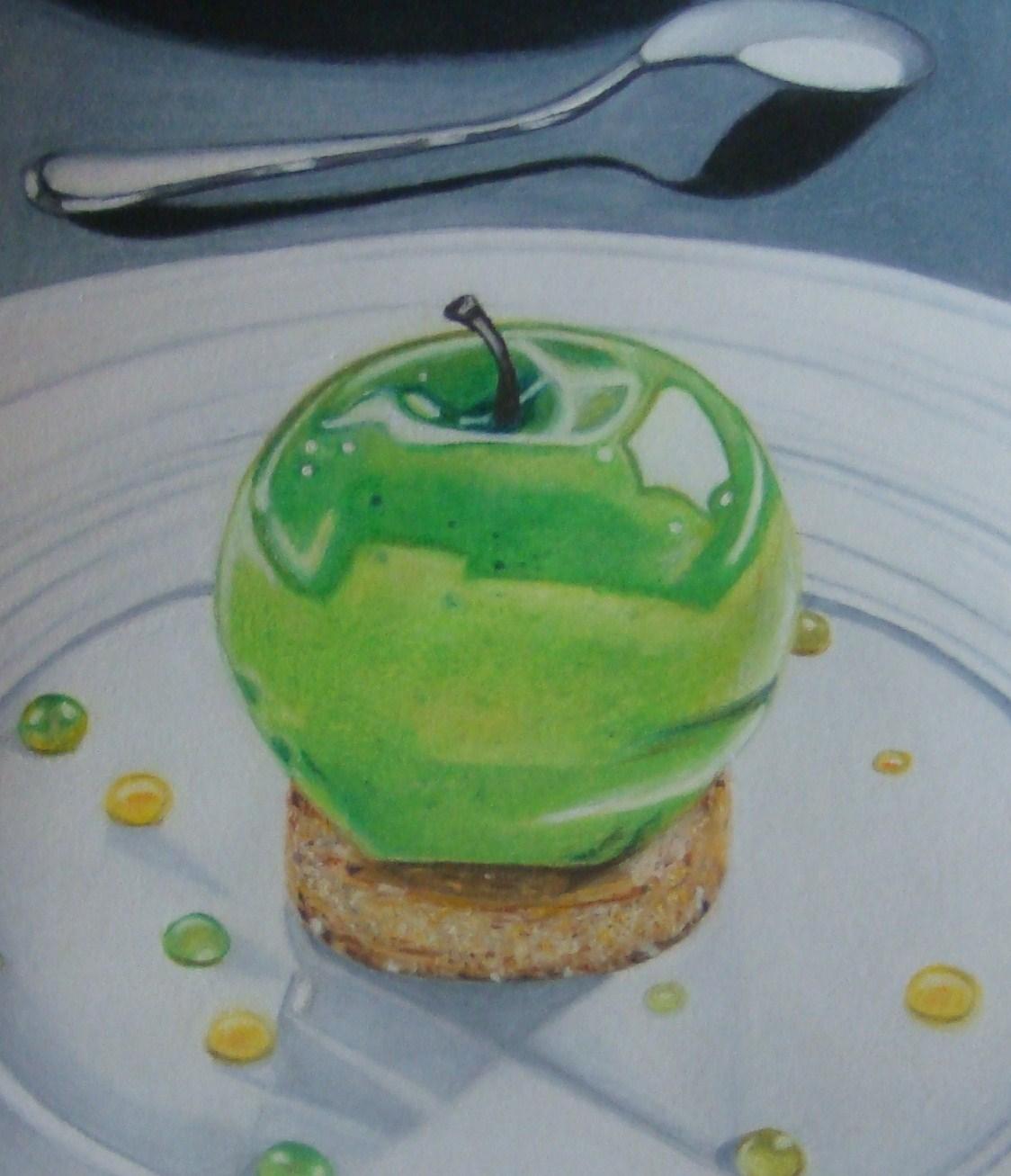 Dessin la tarte aux pommes de julien - Dessin tarte aux pommes ...