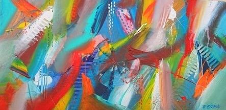 Peinture abstraction lyrique for Abstraction lyrique