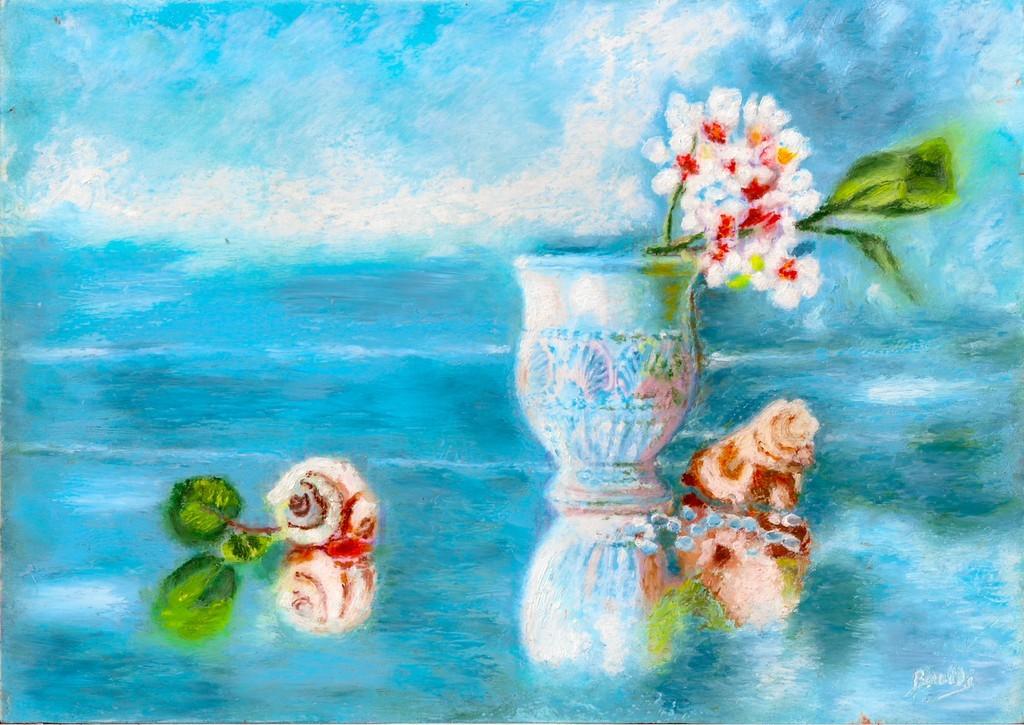 vase et ciel