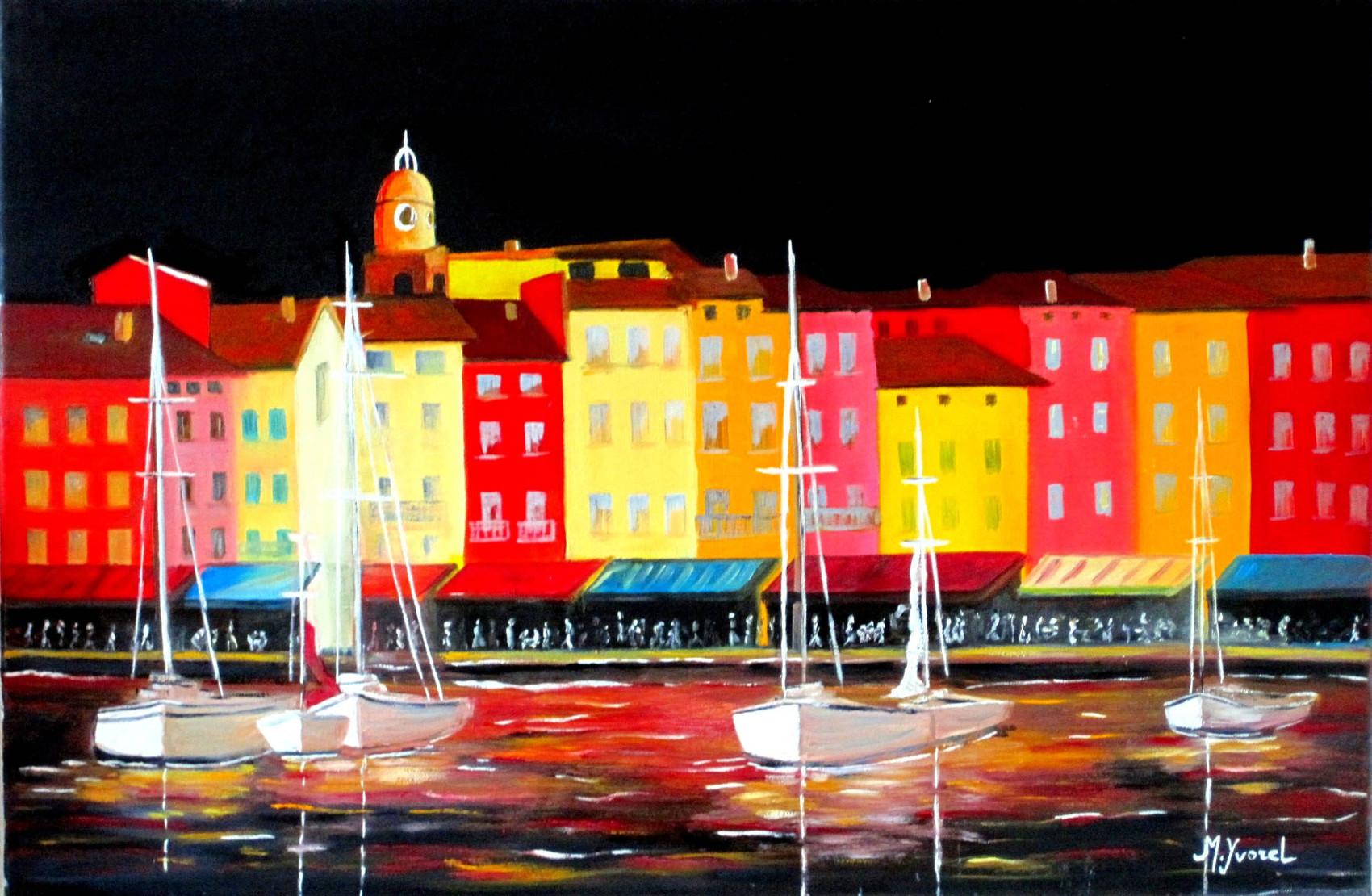 Artiste Peintre St Tropez peinture st tropeznight