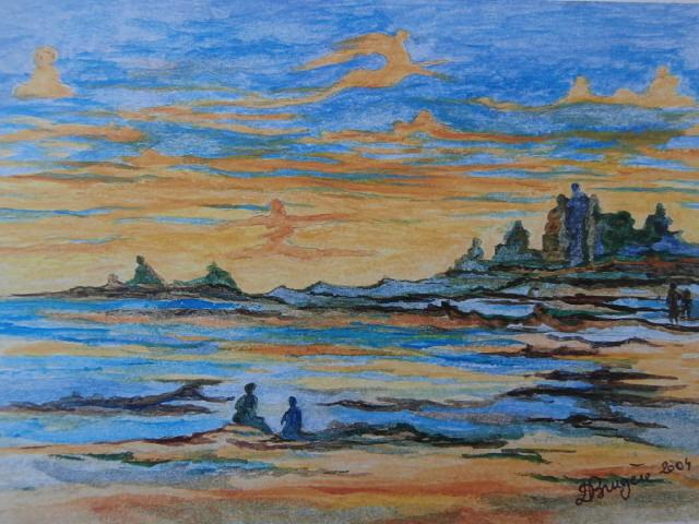 Peinture paysage astral for Peintures astral