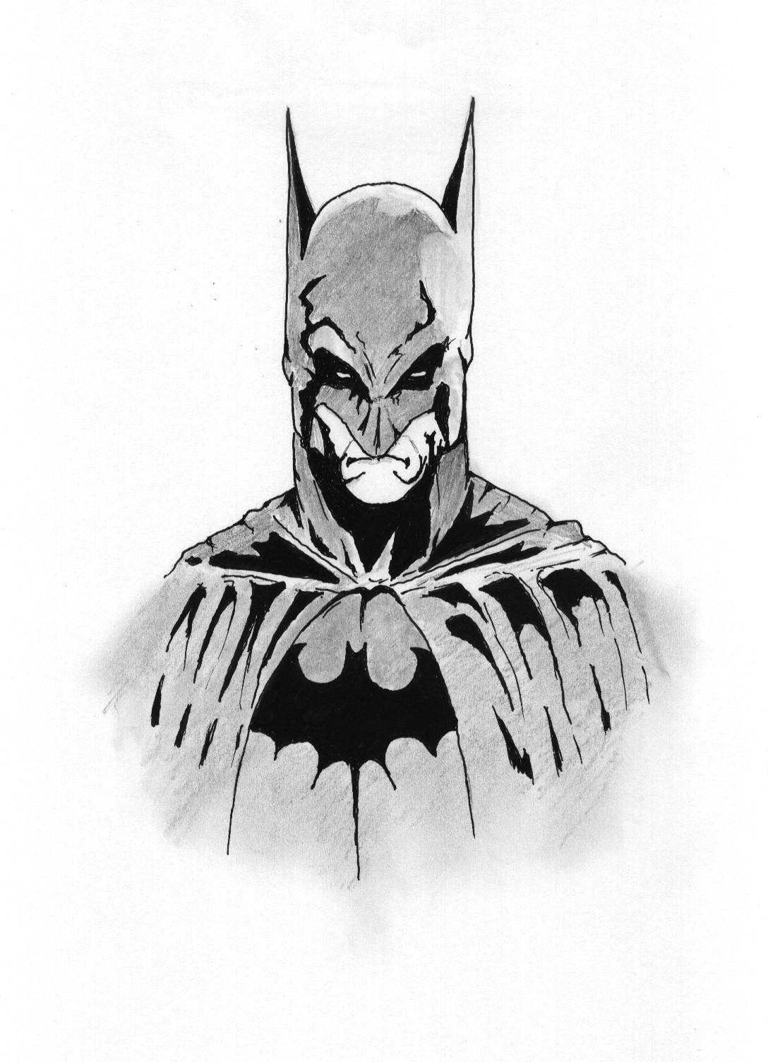 Dessin Batman Dessin Fait Pour Un Ami De Mon Fils