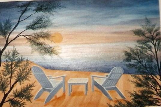 peinture vacances d 39 t. Black Bedroom Furniture Sets. Home Design Ideas