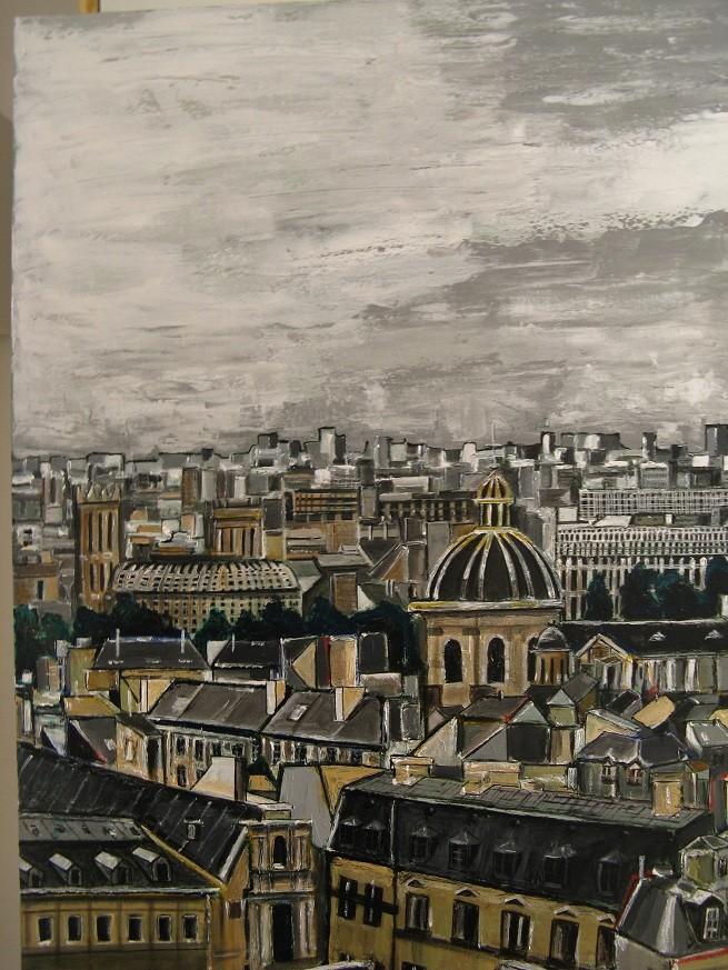 Peinture toits de paris - Visite des toits de paris ...