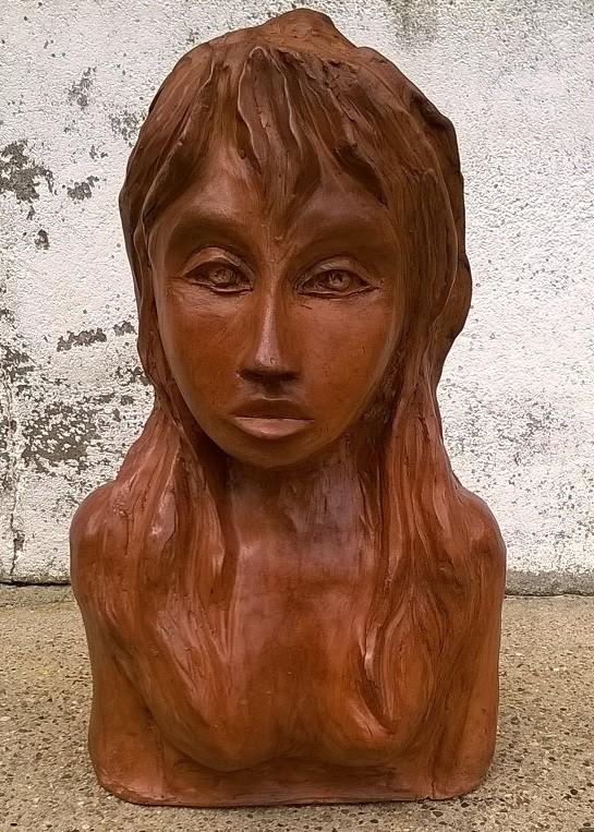 sculpture buste de femme. Black Bedroom Furniture Sets. Home Design Ideas