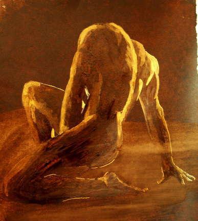 Peinture homme de dos for Peinture chambre pour homme