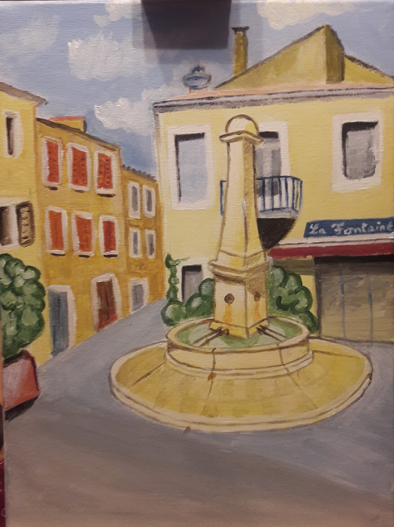 Fontaine salon de provence