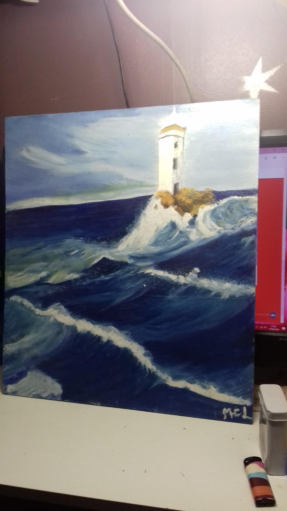 Le phare en mer
