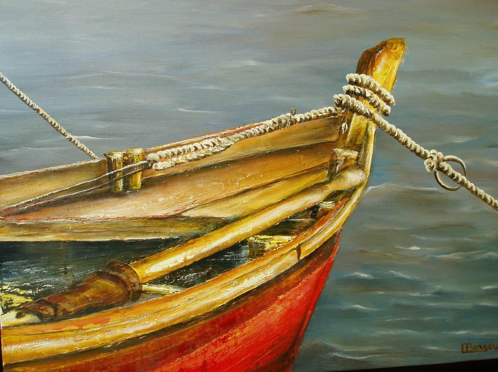 barque sous le soleil