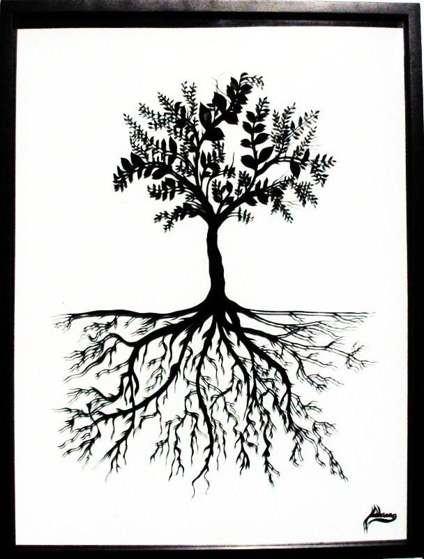 Dessin l 39 arbre de vie - Dessin de arbre ...