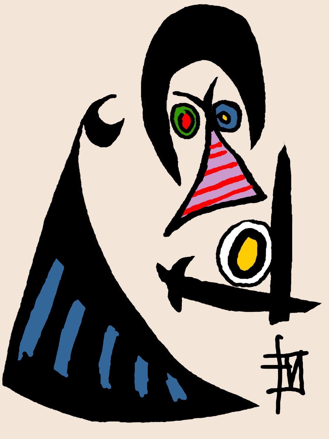 abstraction simiesque