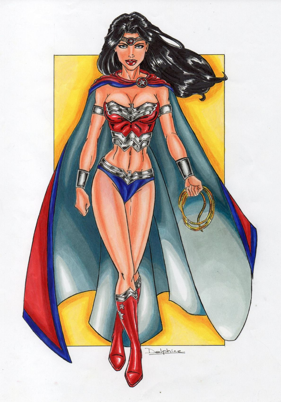 Dessin Wonder Woman