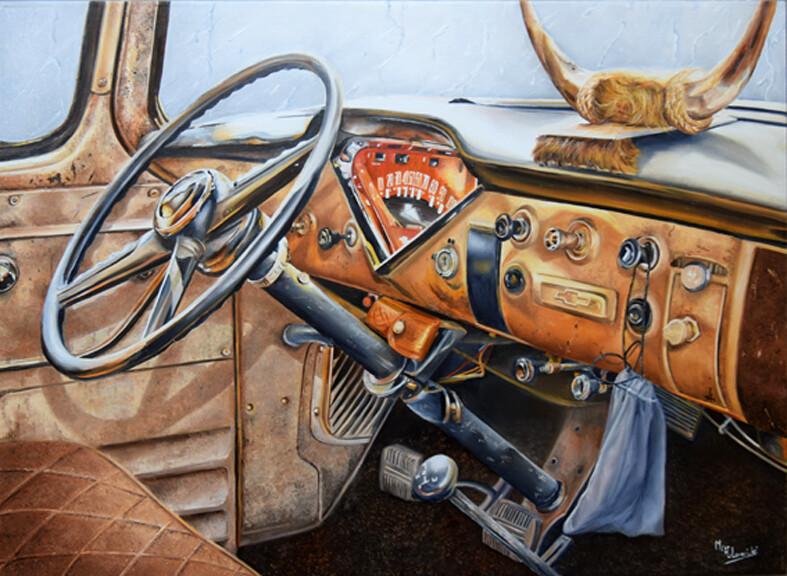 La Chevrolet intérieure