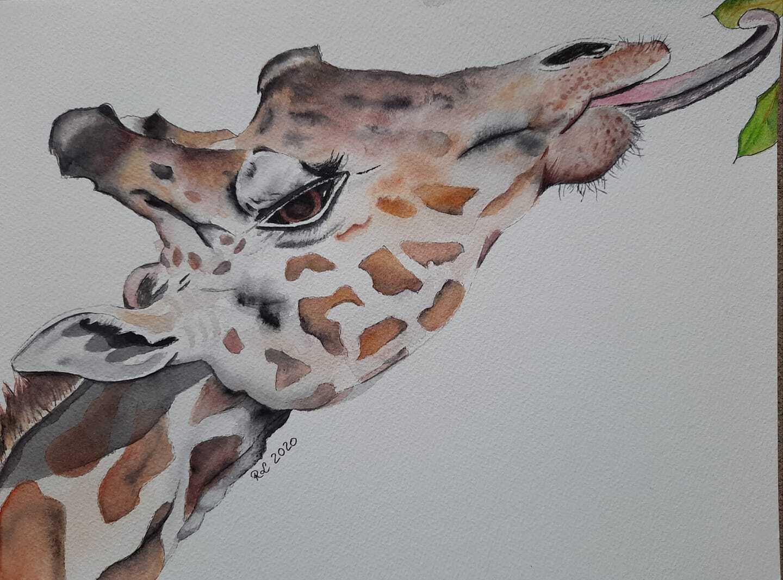 Une faim de girafe