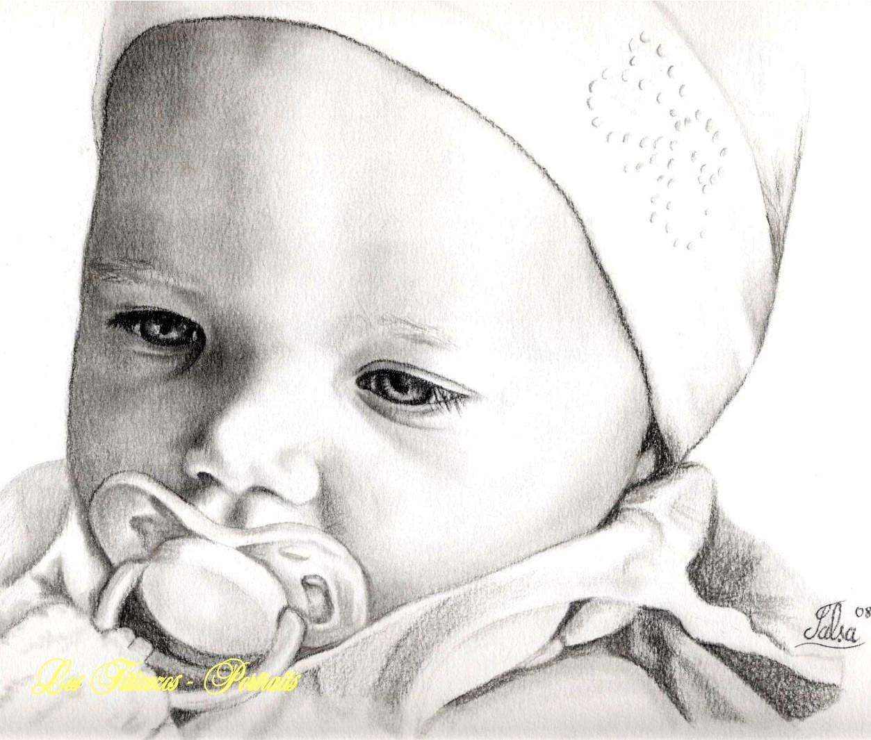 Dessin Ange Realiste dessins bébé