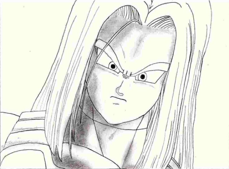 Dessin Trunks 2 By Pilou