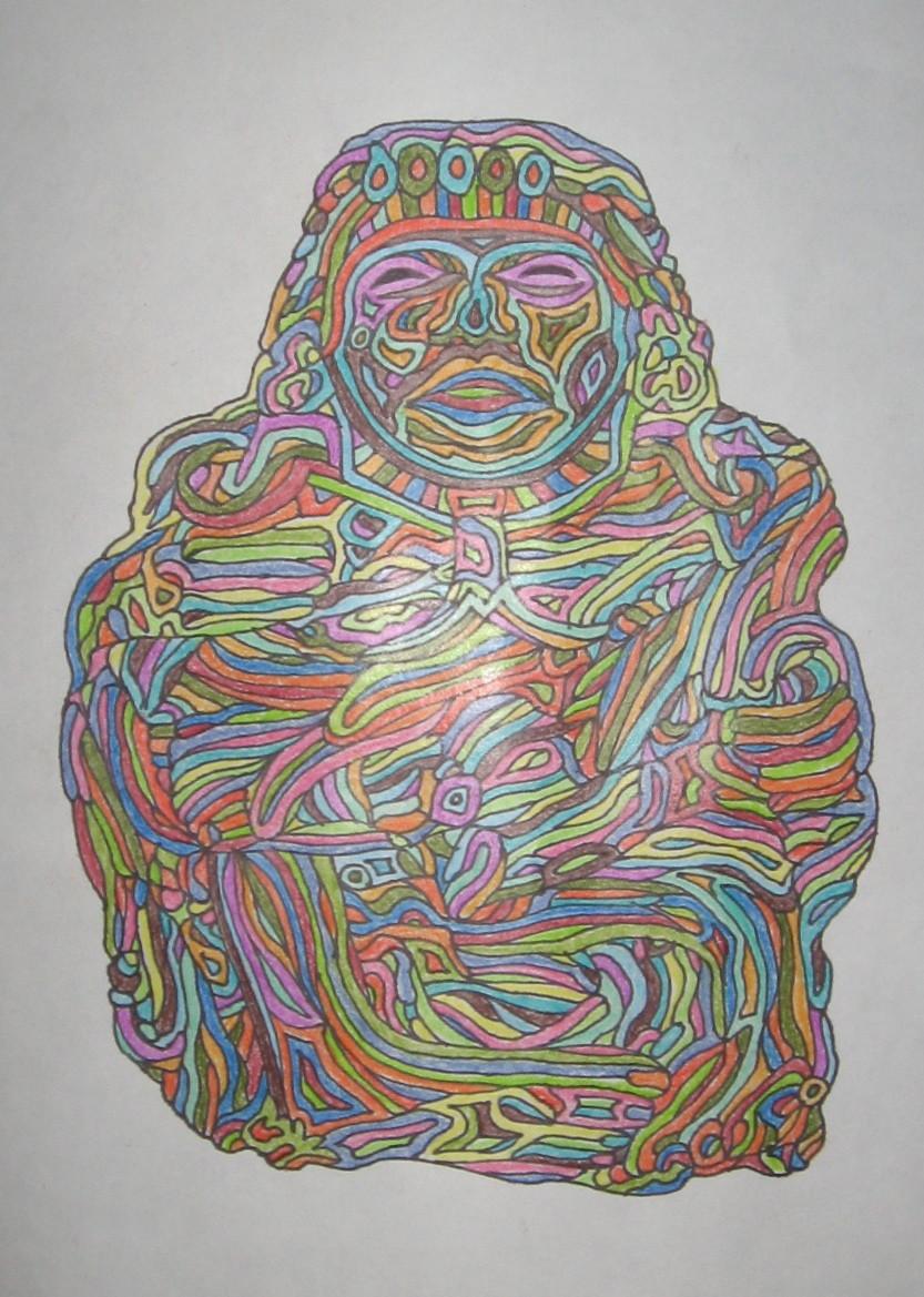 Sculpture Maya 3
