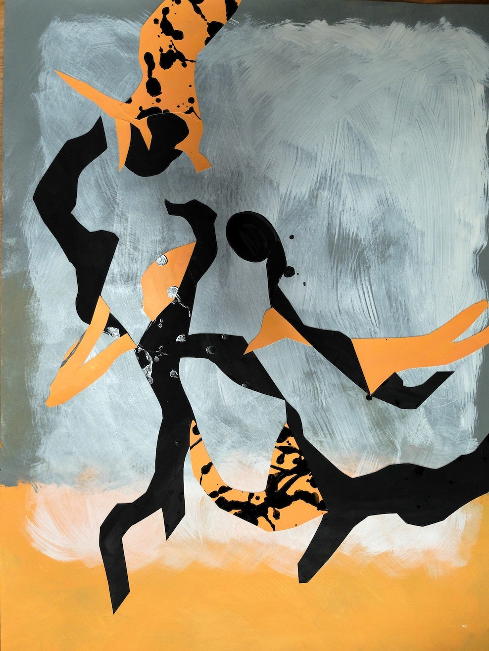 Enfants africains jouant
