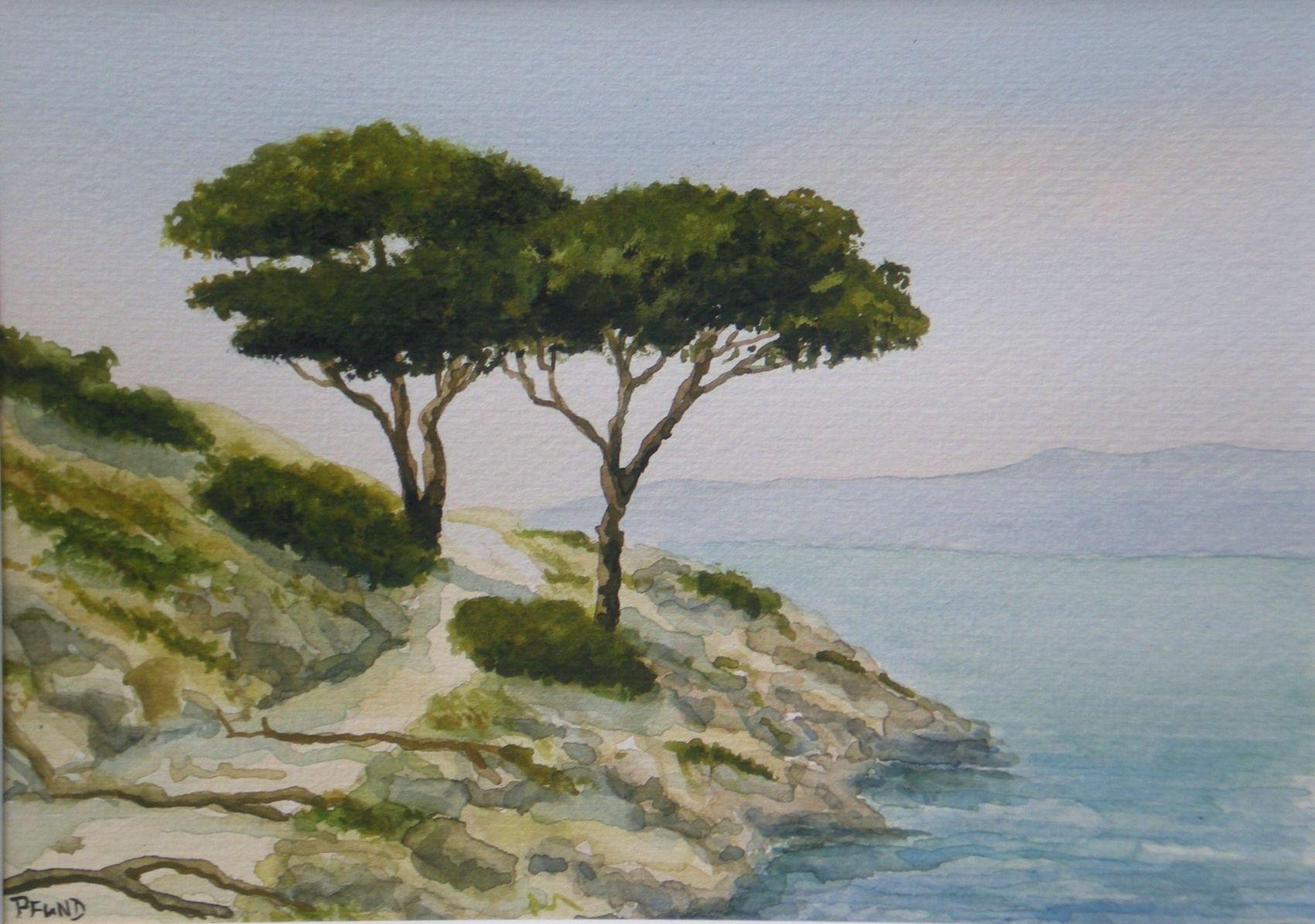 pin tableau peinture mer - photo #10