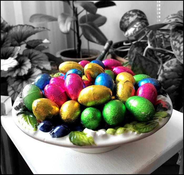 Bonnes fêtes de Pâques.....