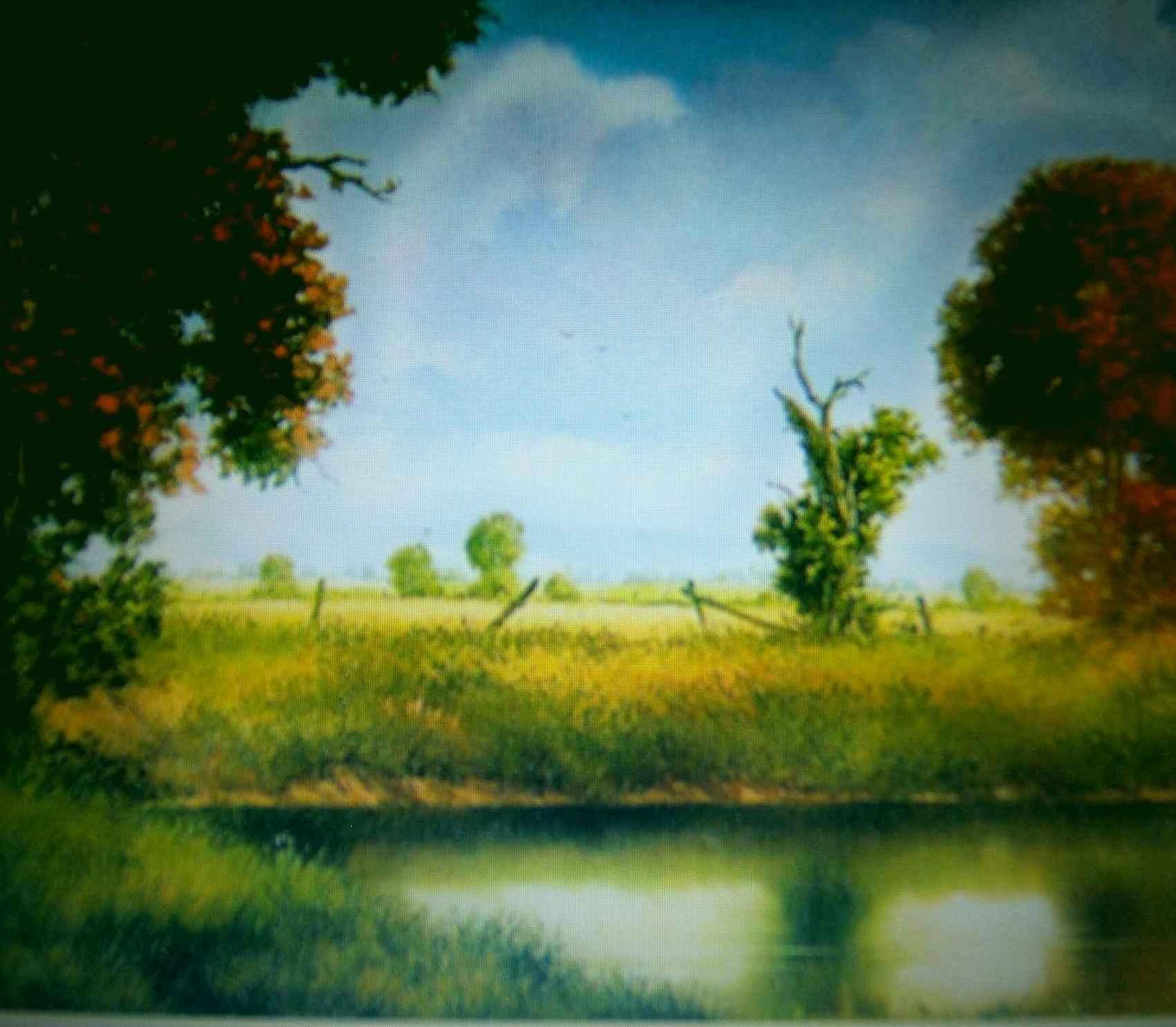 L'étang de Rebreuve