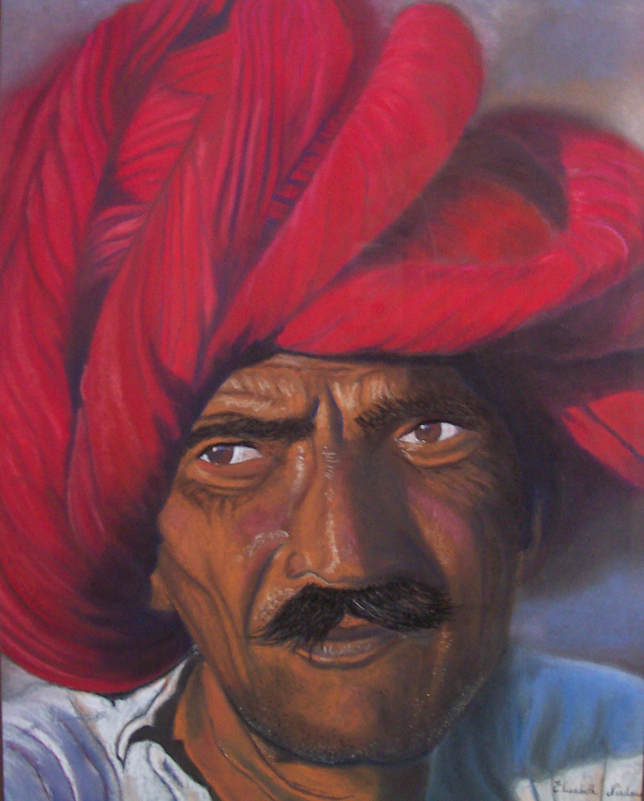 Un homme au Rajasthan