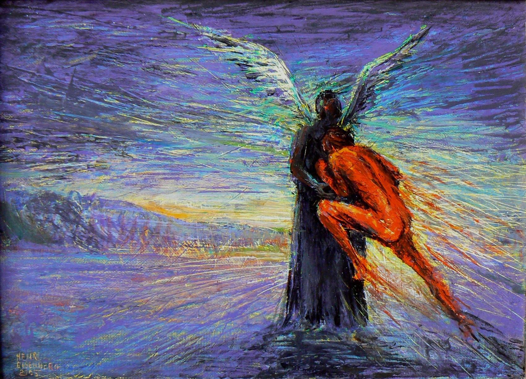 Le Combat de Jacob avec l'Ange.