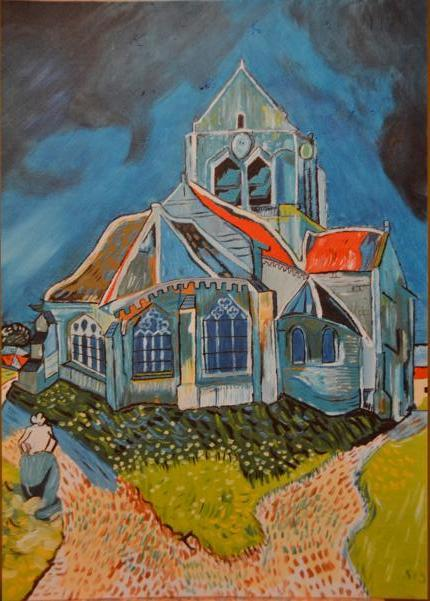 Eglise d'Auvers sur Oise