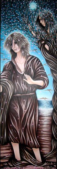 Peinture Apollon et Daphnée ou l'Arbre de vie
