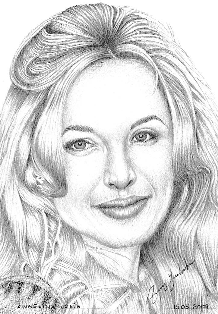 Dessin dessin angelina jolie - Jolie dessin a faire ...