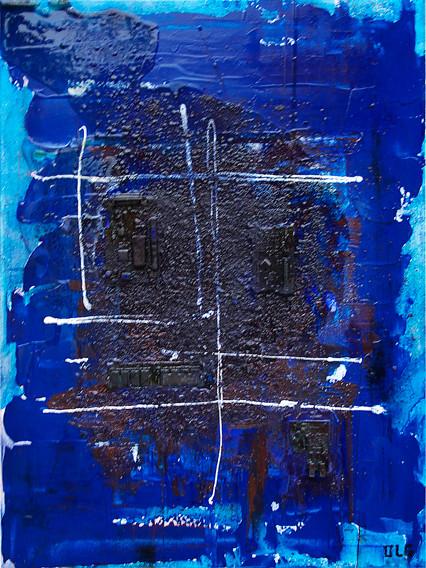 Cyberadiation bleu
