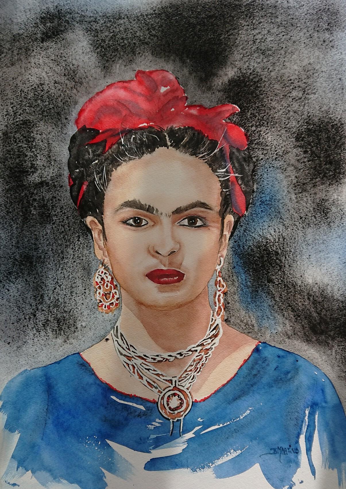 Peinture Frida Kahlo