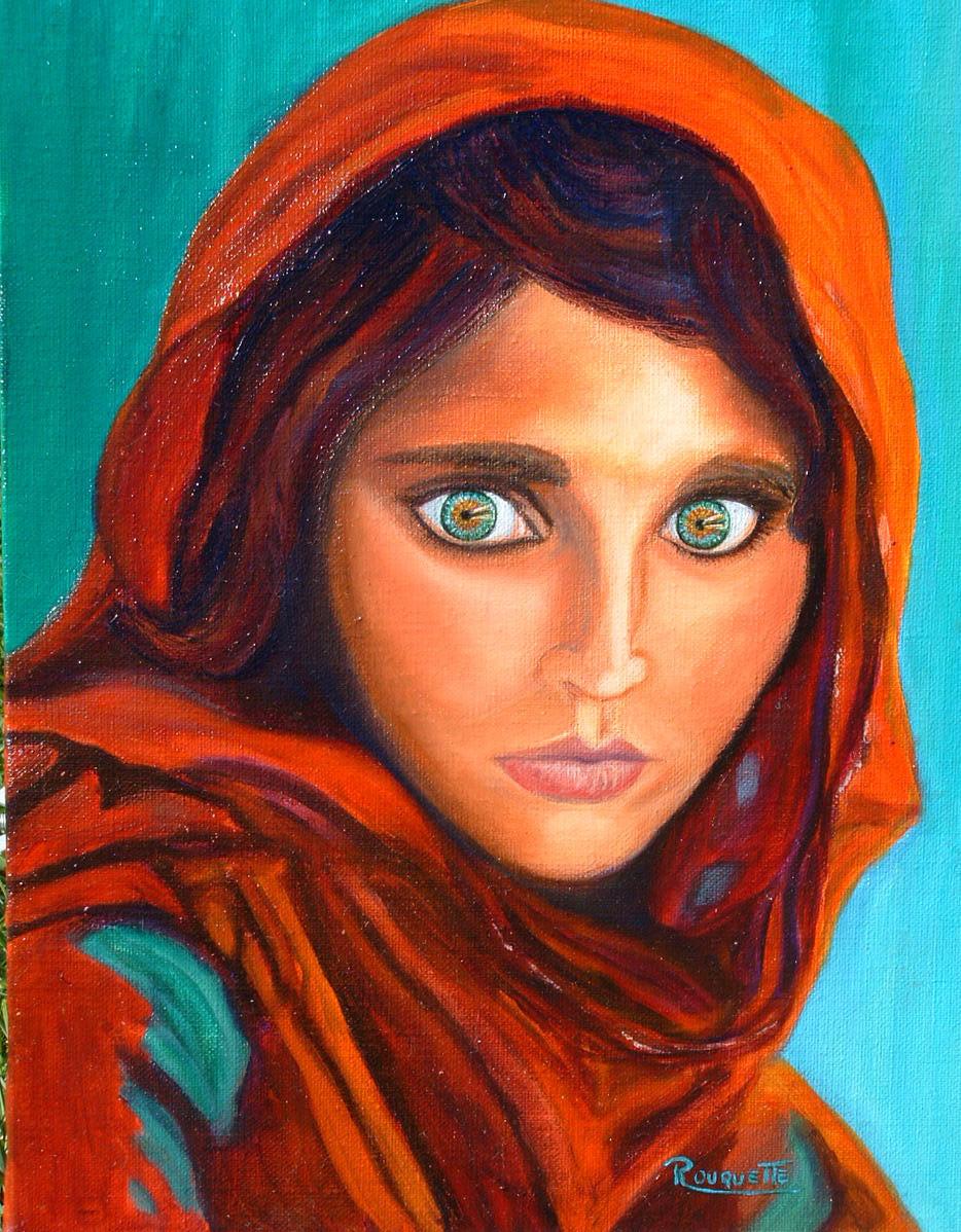 Sehr Peinture Afghane GD95
