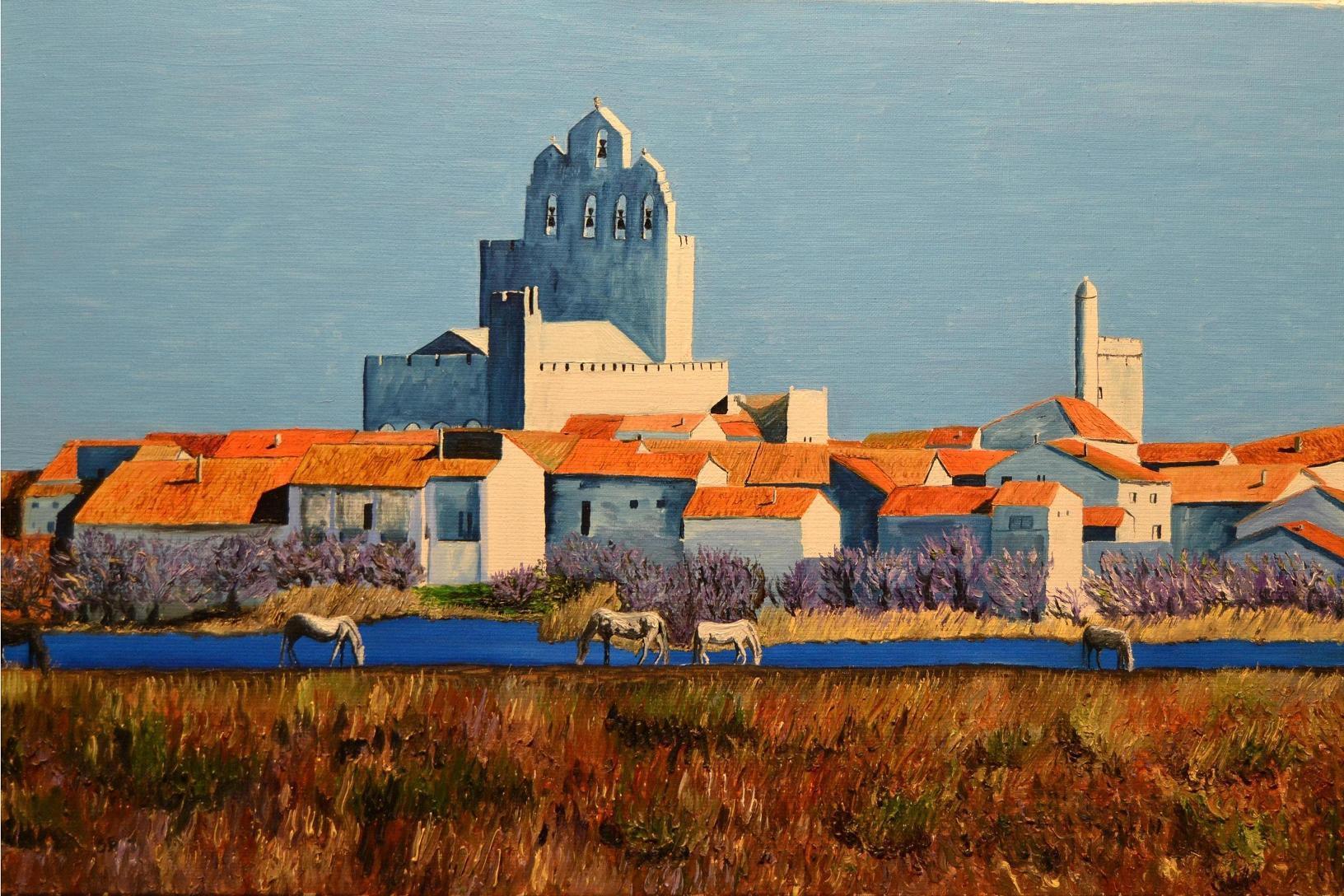 Peinture les saintes maries de la mer - Office du tourisme sainte marie la mer ...
