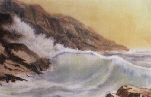 La vague (50x40)