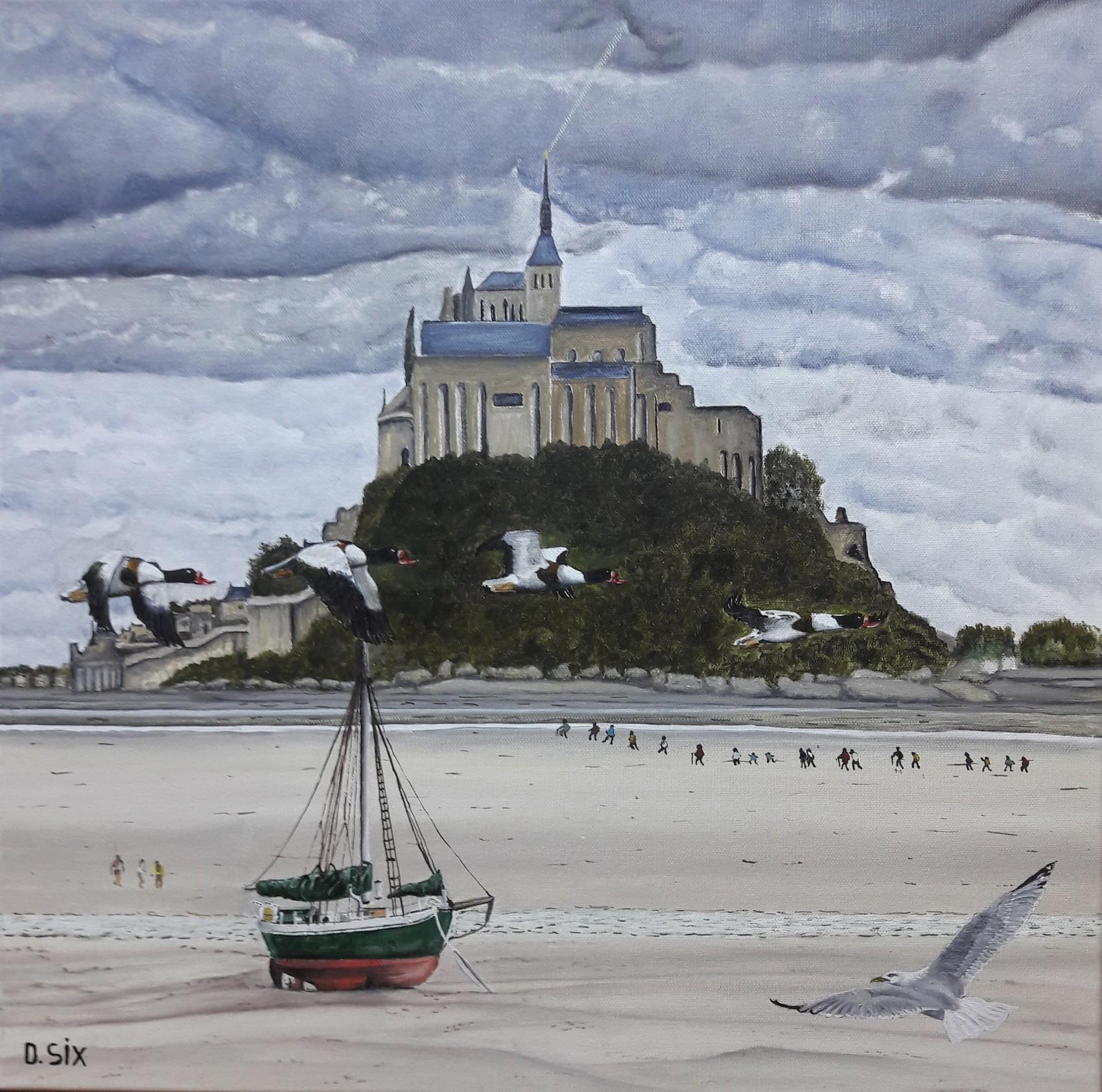 Saint- Michel en sa baie .....