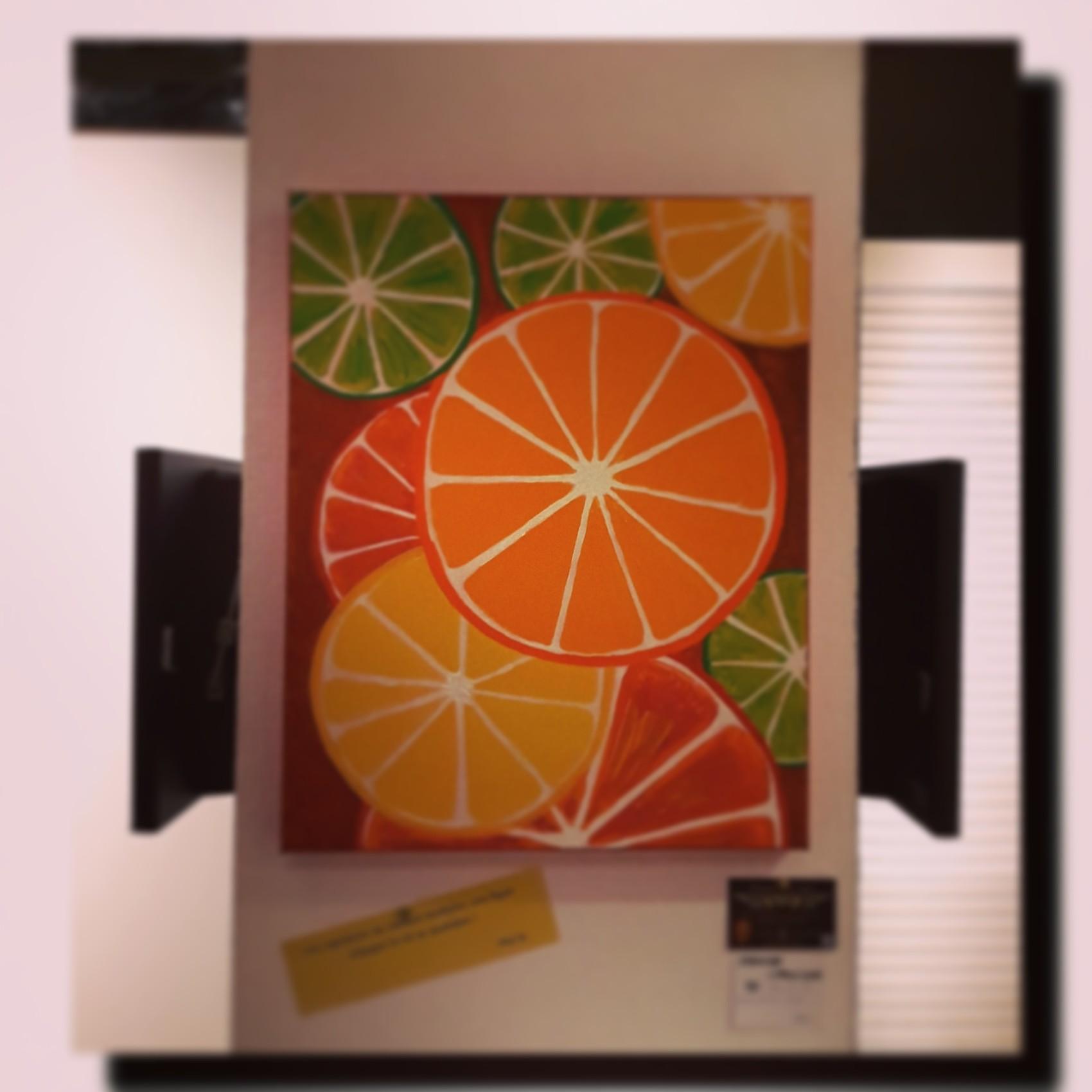 Orange Citronique 3D