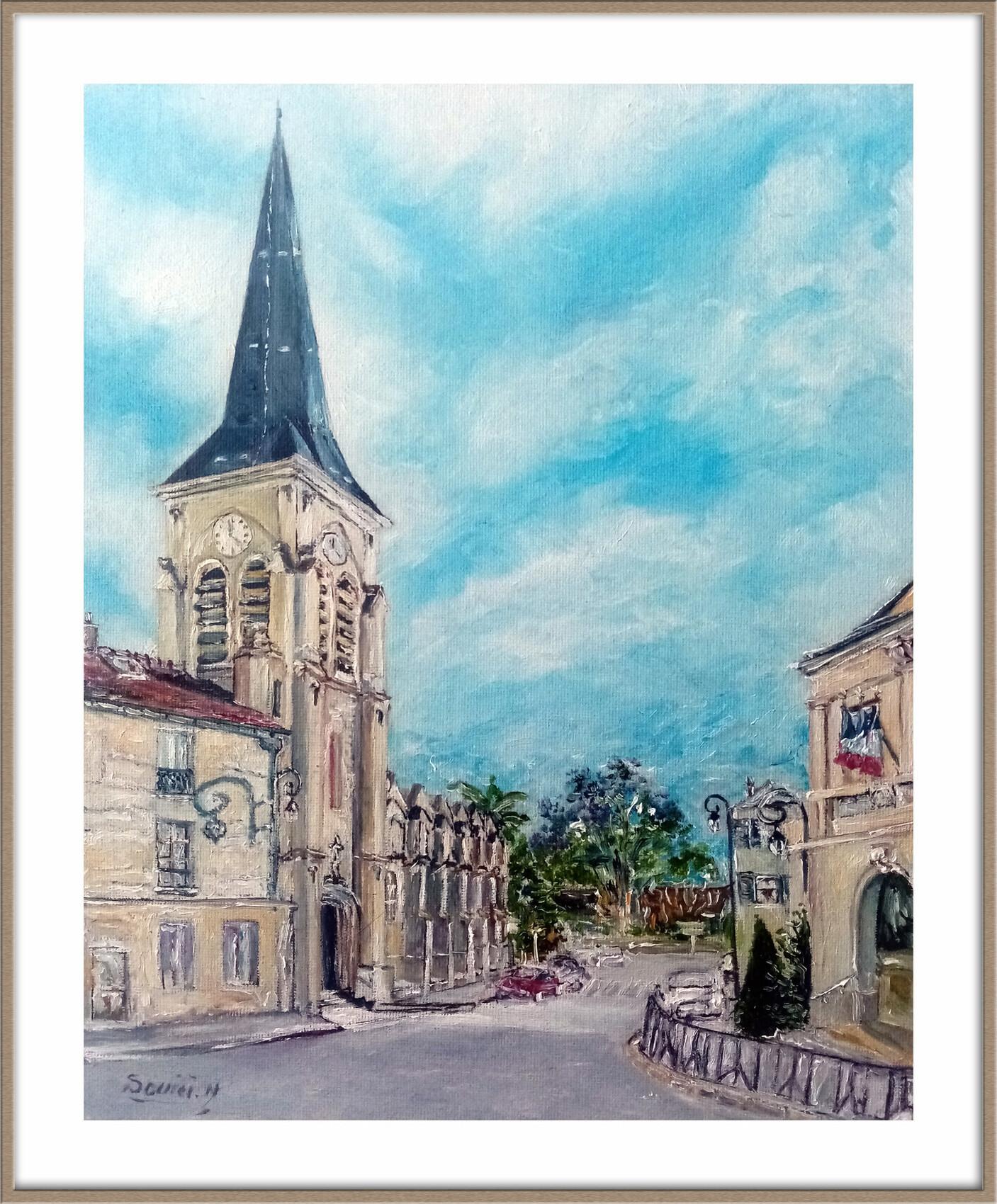 Châtillon, le chef-lieu