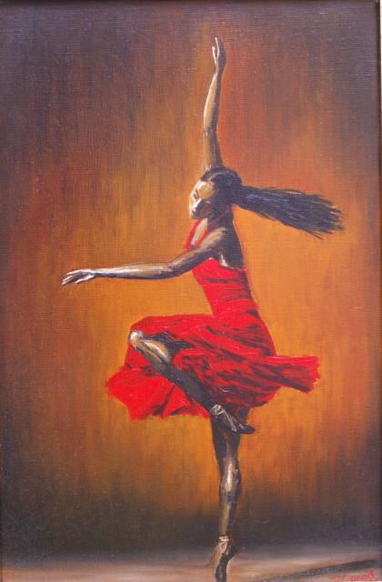 Pin peinture flamenco on pinterest - Peinture danseuse de flamenco ...