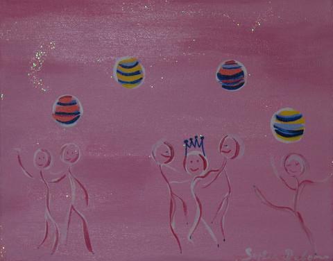 Danseuses Ballons