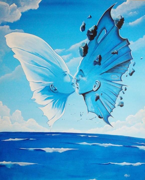 Peinture interpretation suidmak par defré