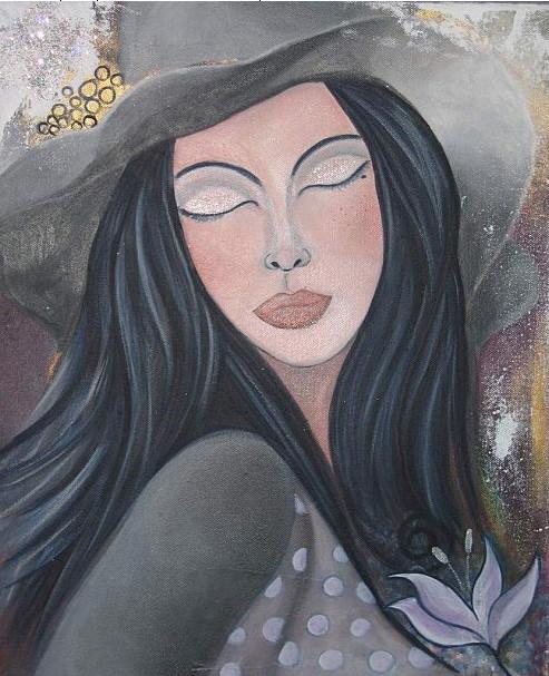 Le chapeau gris d'Adeline