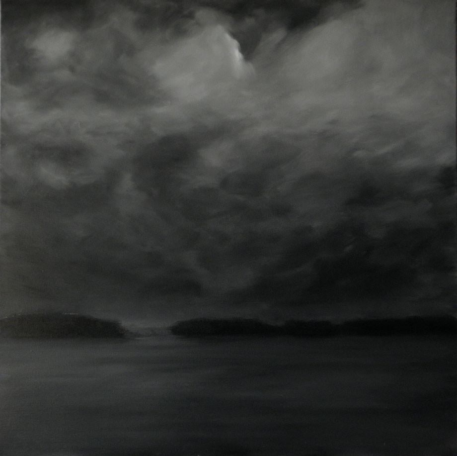 Clair de lune sur les hauts de Vouvray