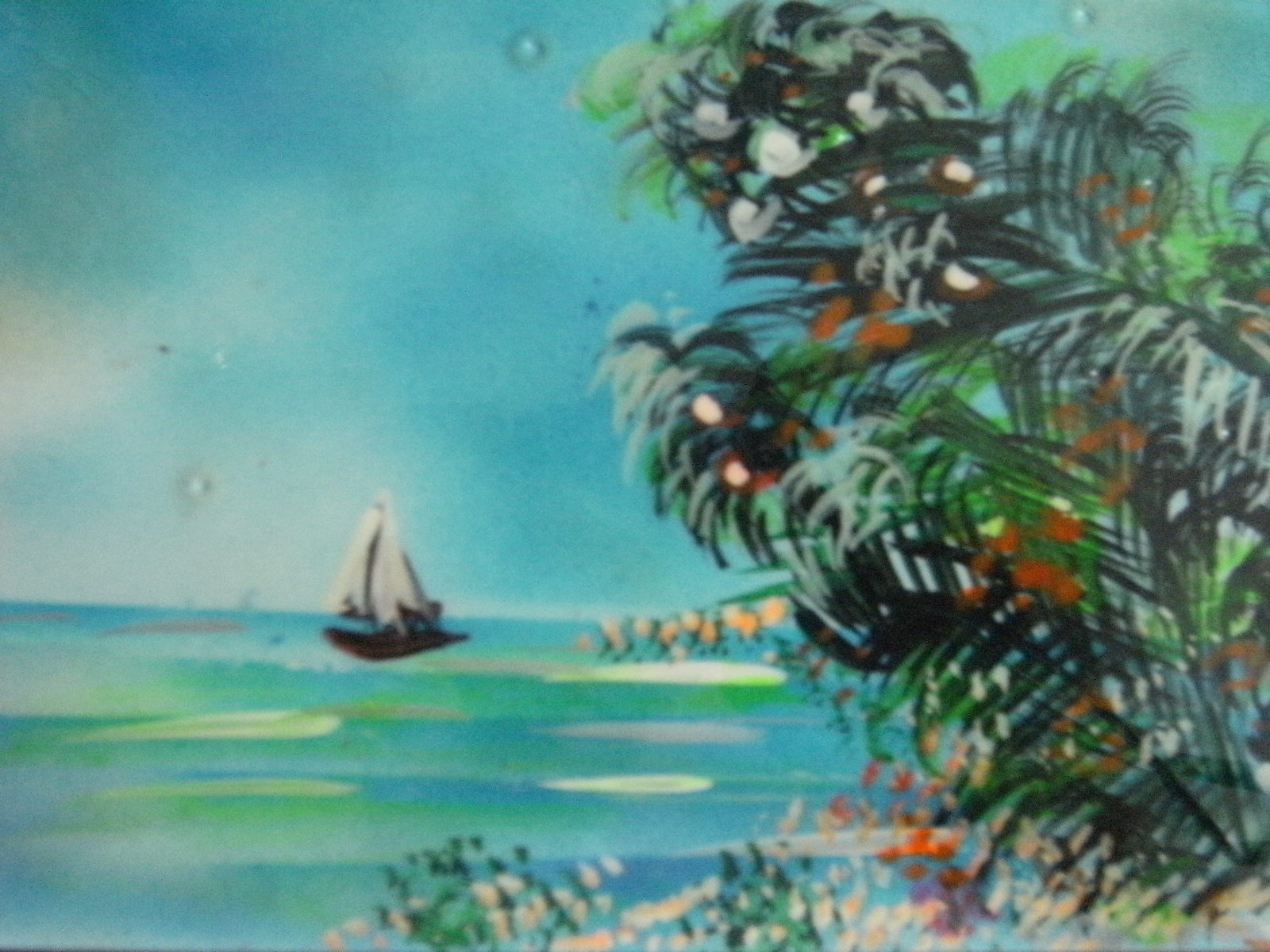 Peinture un petit bout du monde - Du bout du monde decoration ...