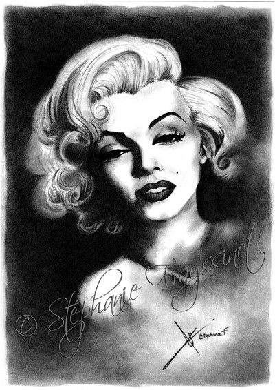 Dessin marilyn monroe picture to pin on pinterest pinsdaddy - Dessin marilyn monroe ...