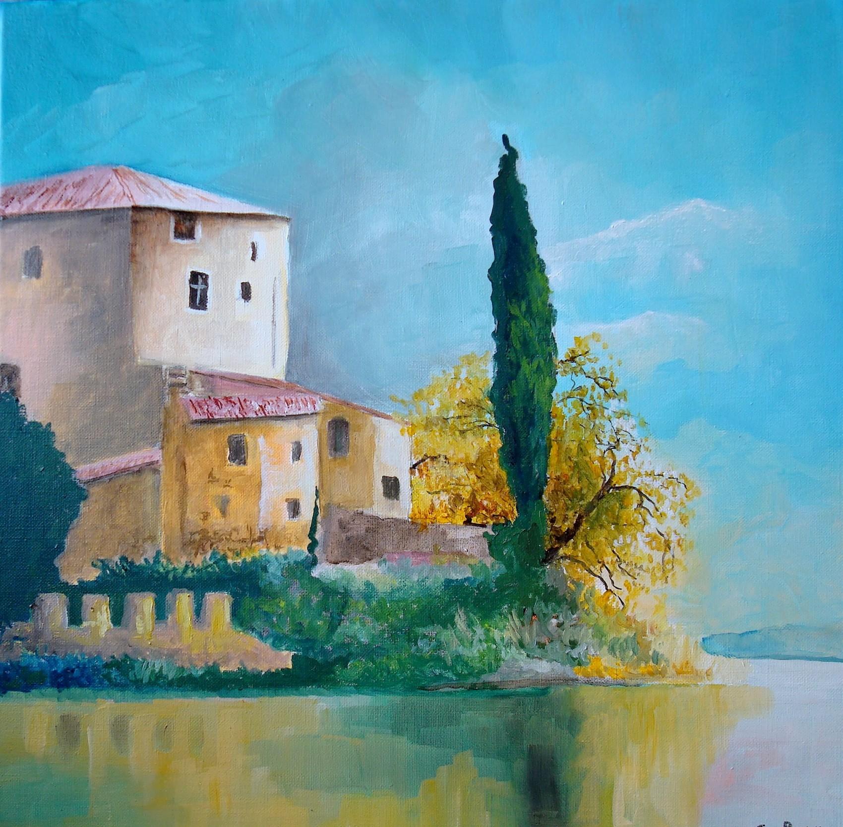 Peinture la maison du lac for La maison du lac streaming