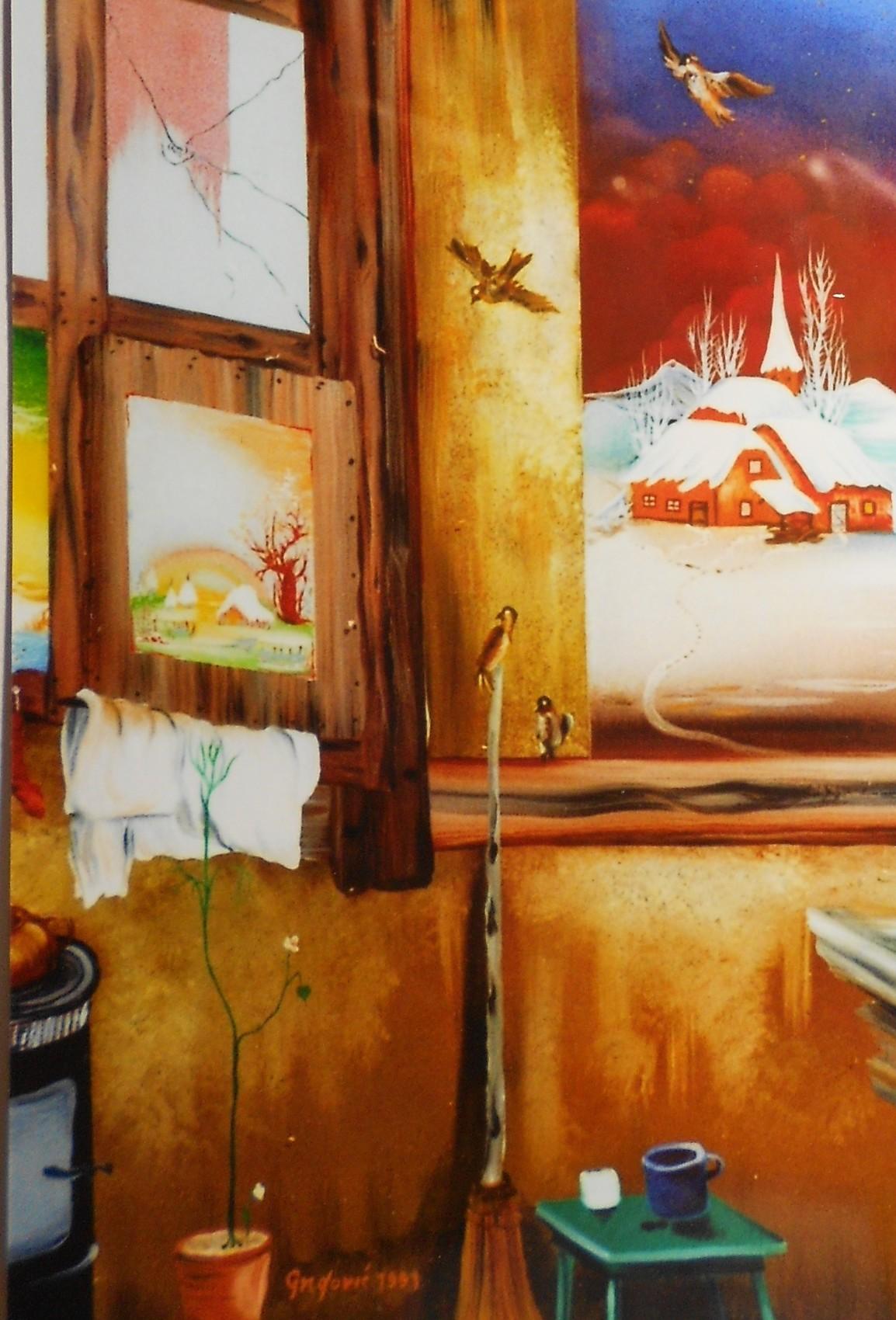 Peinture la fenetre for Peinture chambre sans fenetre