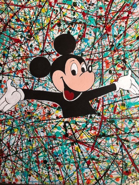 pop art  et dripping