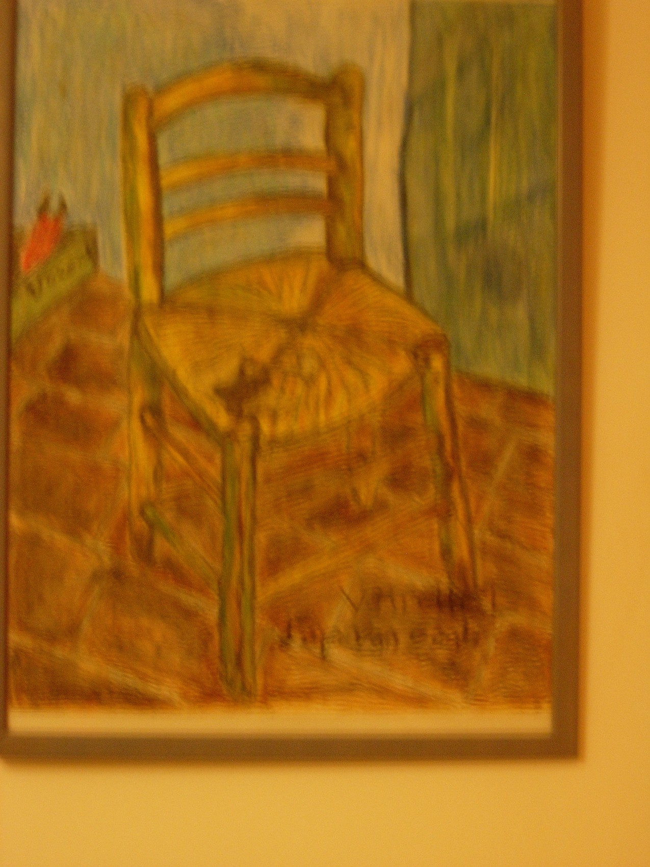 Daprs Van Gogh La Chaise